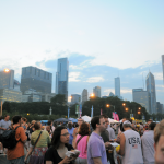 Crowd at Taste of Chicago